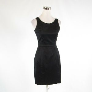 Black twill BANANA REPUBLIC sheath dress 0